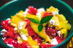 Greek Watermelon Salad With Orange Juice Dressing
