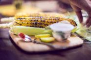 Corn Street Food Style