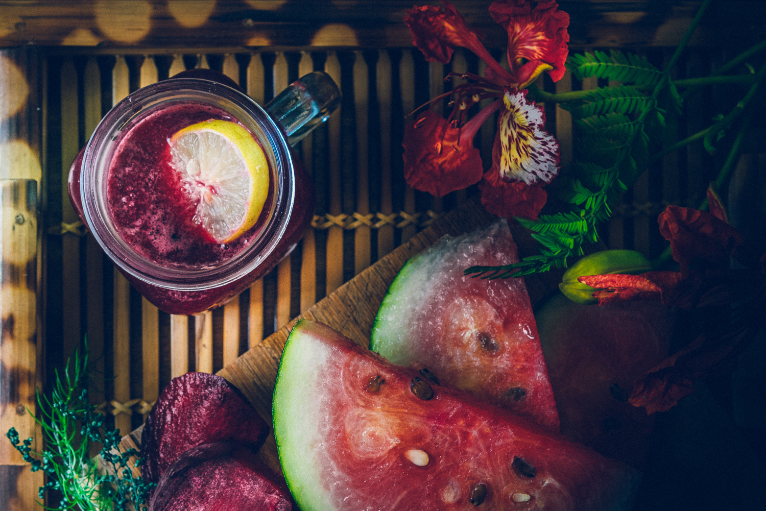 Beetroot Watermelon Ginger Juice