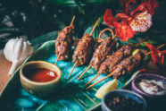 gluten free seekh kebab
