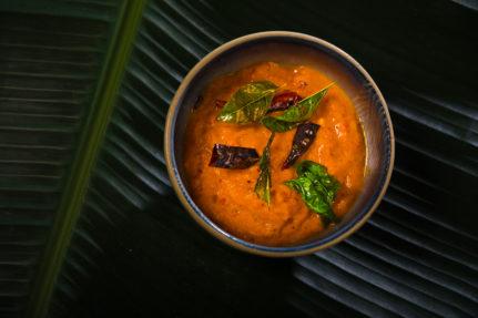 South Indian Tomato Chutney/Dip
