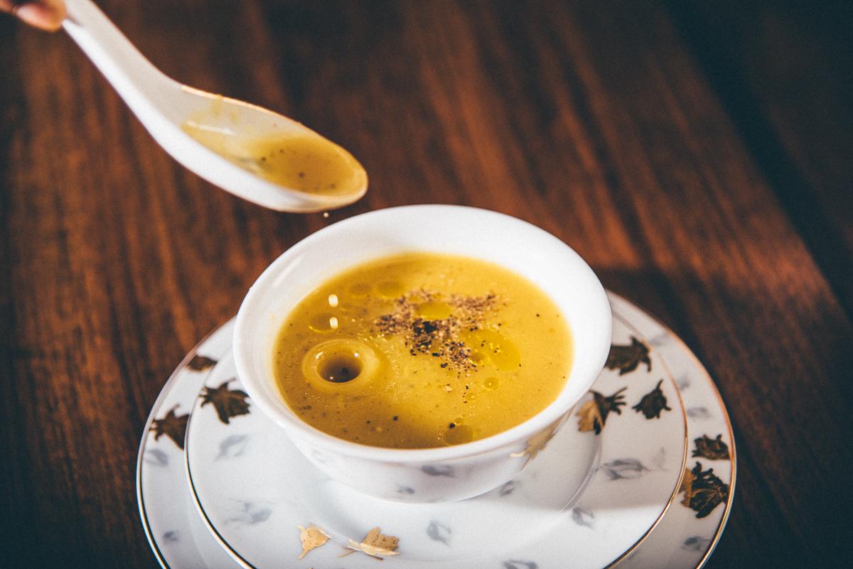 Perk me up Pumpkin Soup