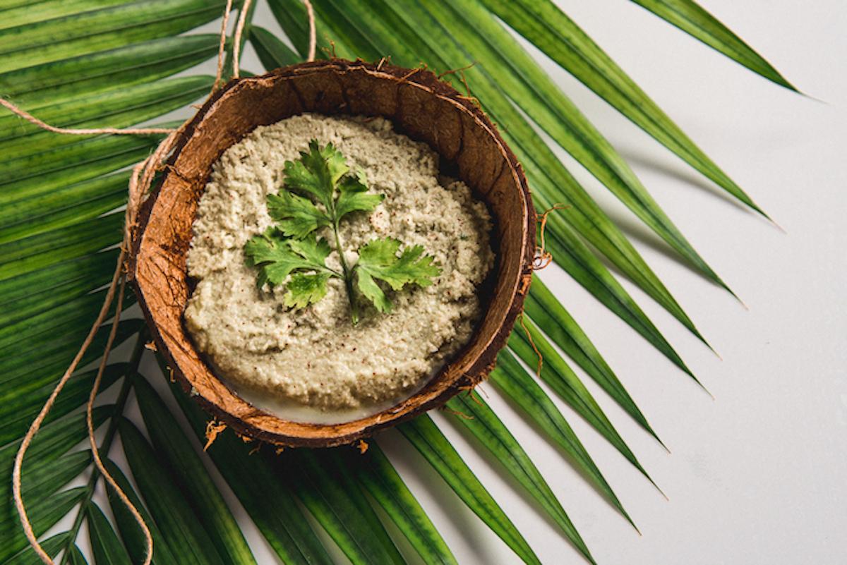 Coconut and Coriander Chutney