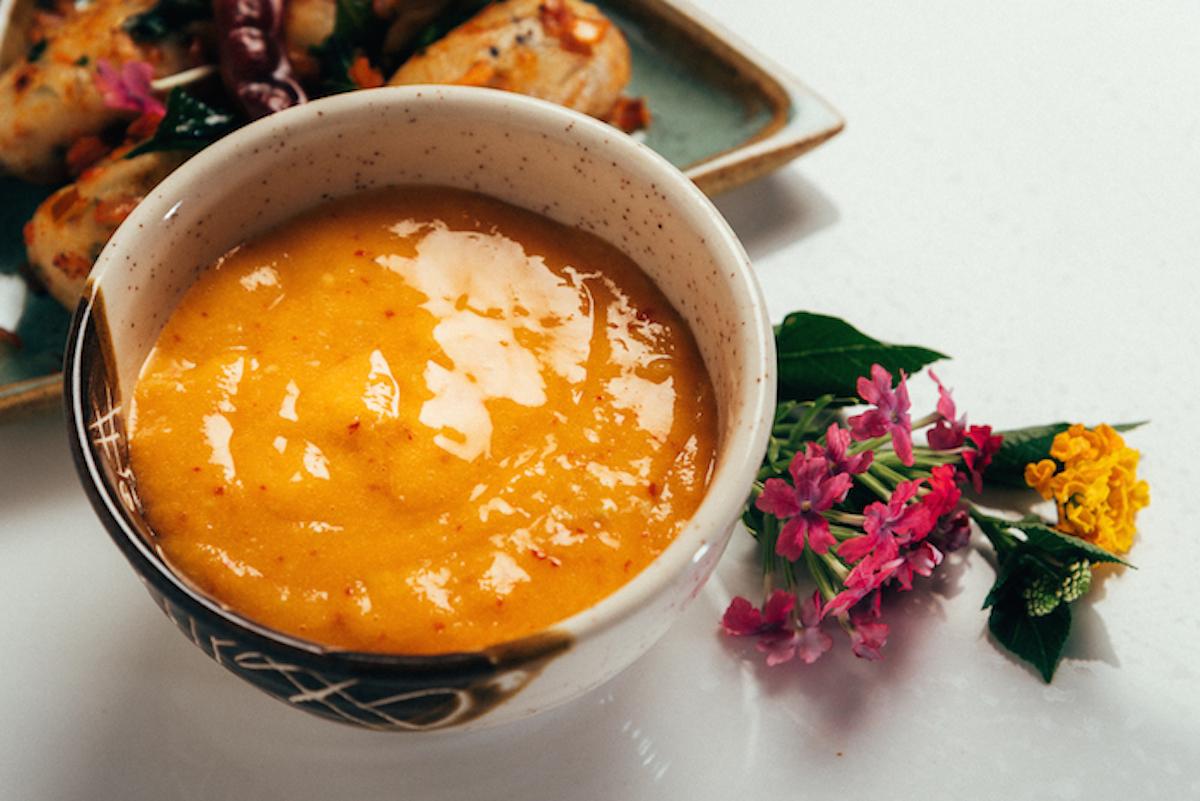 Raw Mango, Red Chillies Chutney