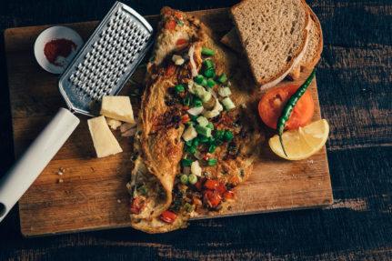 Bombay Omelette Recipe
