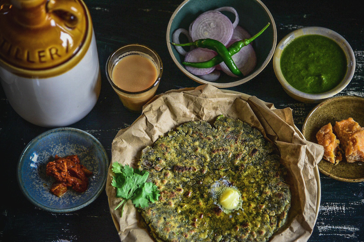 Gluten free Methi or Fenugreek paratha recipe