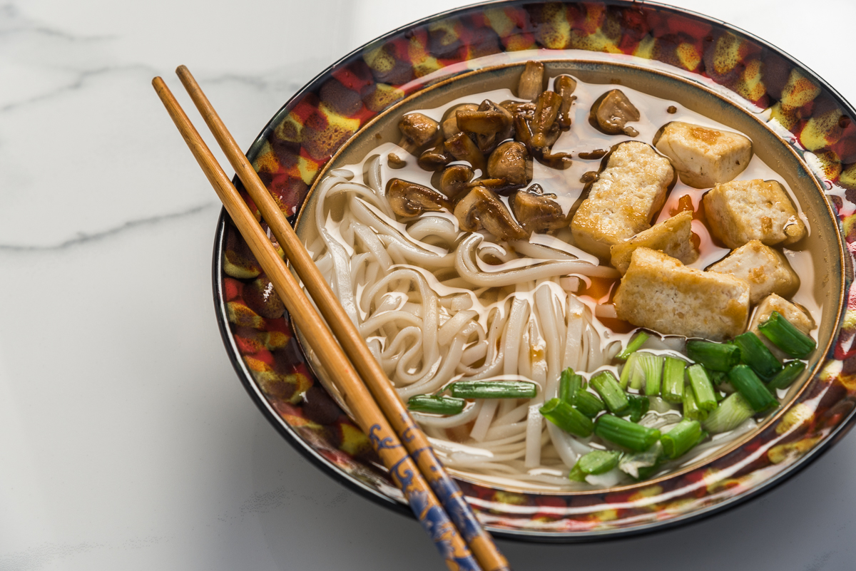 Vietnamese Pho Inspired Vegan Soup