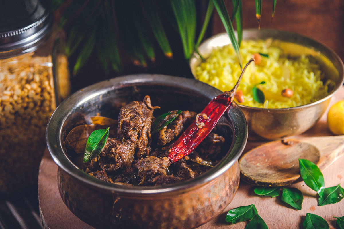 South Indian Guntur Mutton Fry