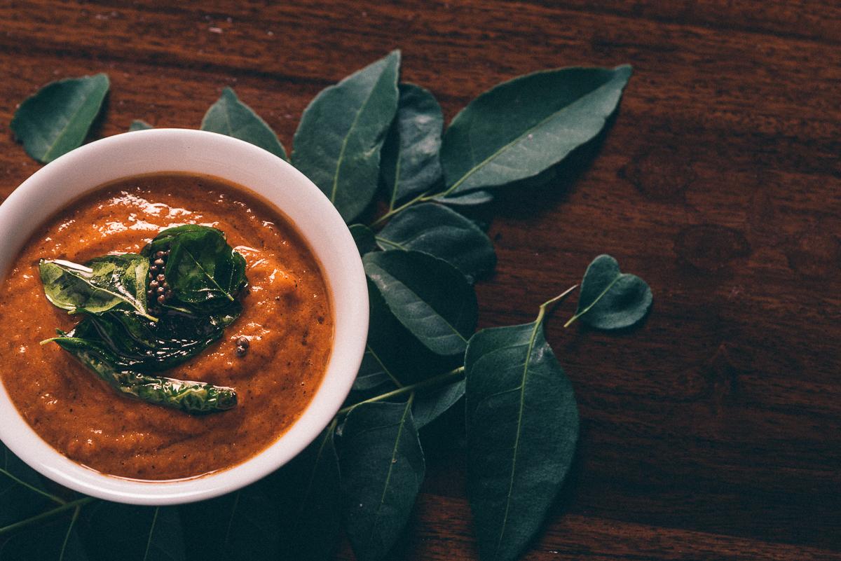 Tomato Tamarind Garam Masala Chutney