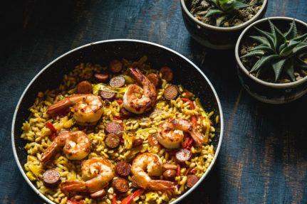 Prawn Paella Recipe