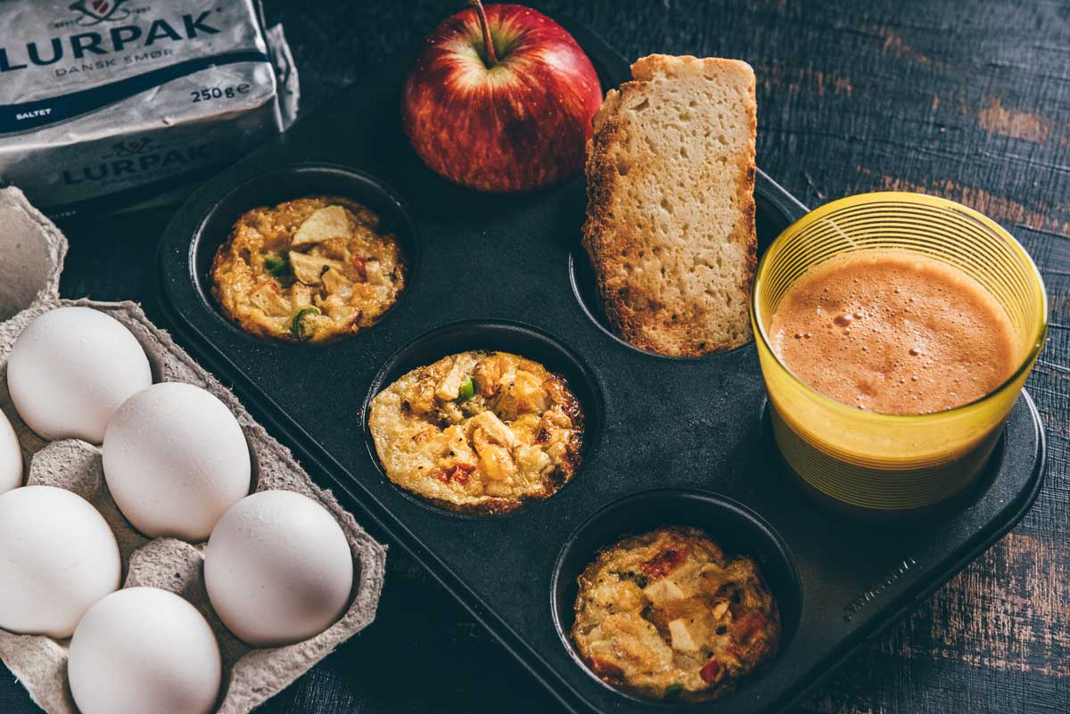 Apple Egg Breakfast Muffins