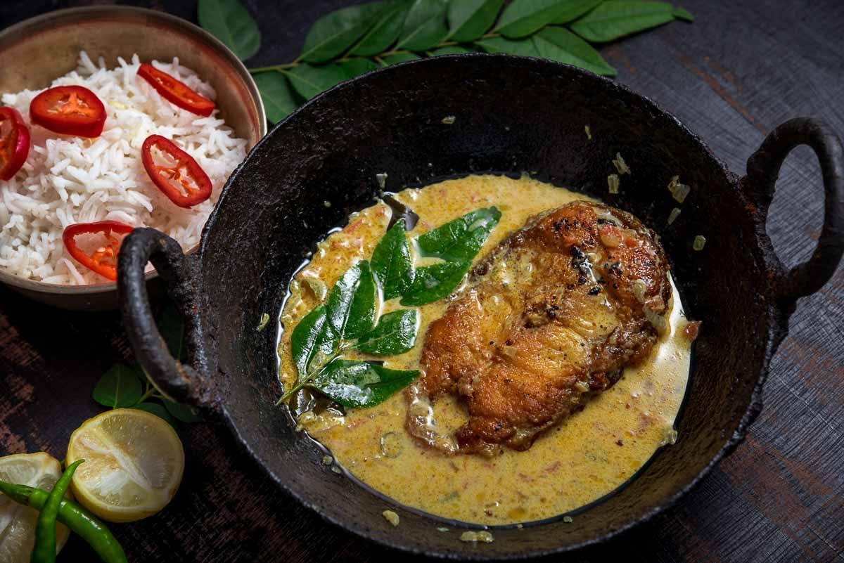 Kerala Fish Molly Recipe