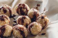 Gluten Free Coconut Vanilla Chocolate Laddoo Recipe