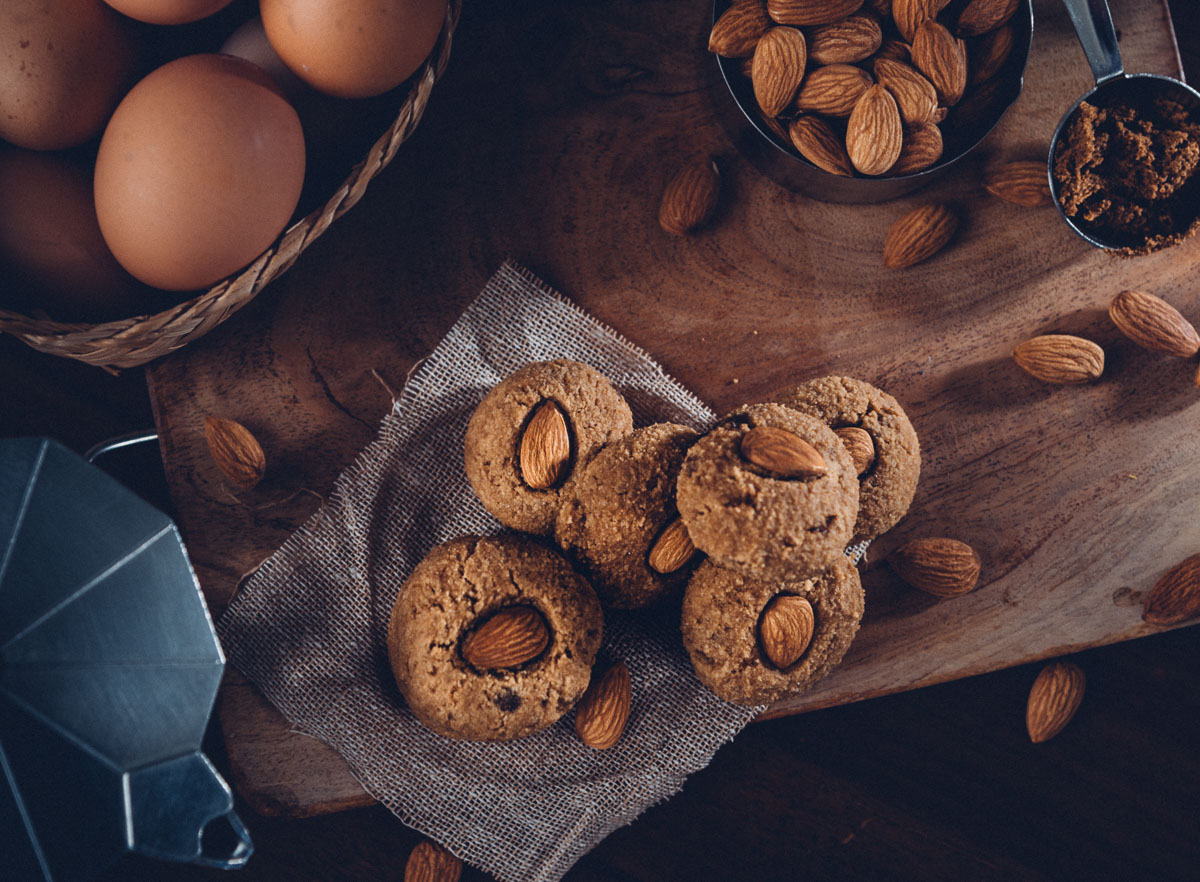 Gluten-free butterless sugarless lemon cookies recipe