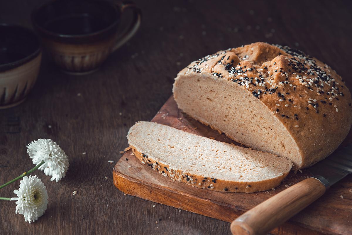 Gluten free artisan bread- glutenfreeindian