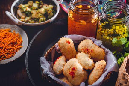 Gluten-free Paani Poori recipe