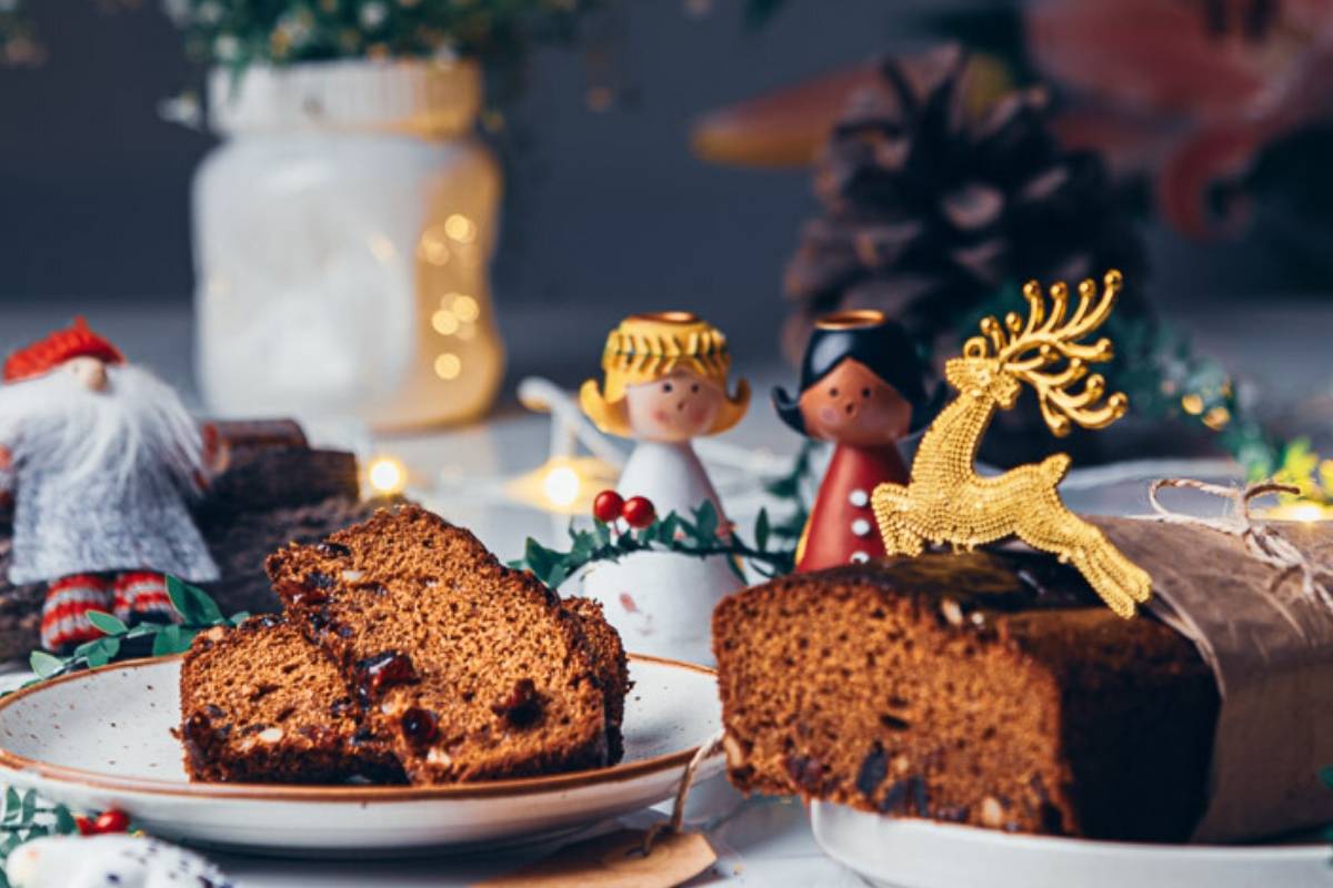 World's easiest  glutenfree christmas cake