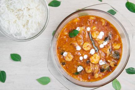Goan Prawn Curry for Gluten free India