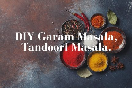 DIY Garam masala and tandoori masala Recipe