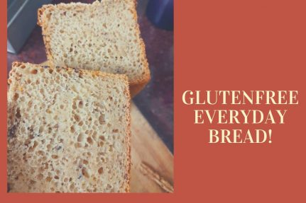 Glutenfree sandwich bread