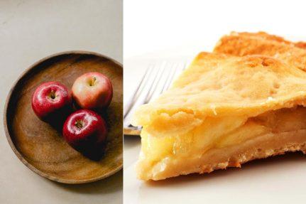 Glutenfree apple pie | pastry | vegetarian