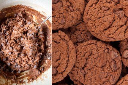 Healthy glutenfree chocolate chip cookies