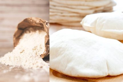 Easy pita bread recipe |no oven | gluten-free| vegan