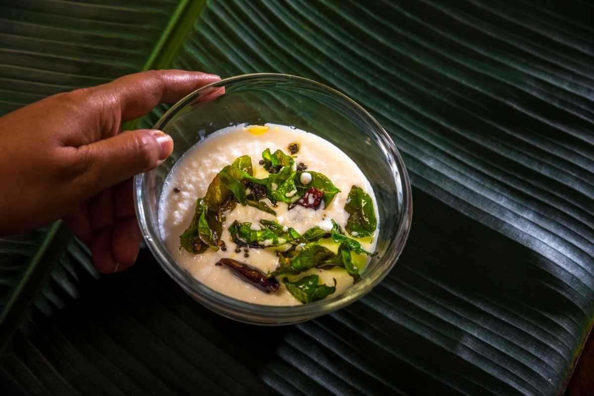 Coconut chutney for idli, dosa  gluten-free  vegan
